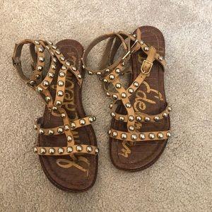 Sam Edelman studded gladiator sandals 8